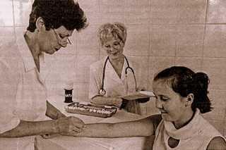 АБАЗИНА Инга Дмитриевна – врач-аллерголог. Анапа. Фото из архива.