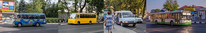 Анапа. Маршруты движения автобусов и маршруток