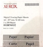 Калька для печати на лазерном принтере XEROX