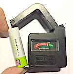 Универсальный тестер для проверки батарей