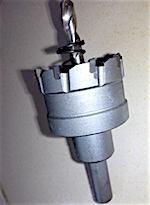 Коронка кольцевая по металлу диаметр - Ø 40 мм - 245р.