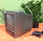 Продаю портативный ч/б телевизор BROWN BR-2227
